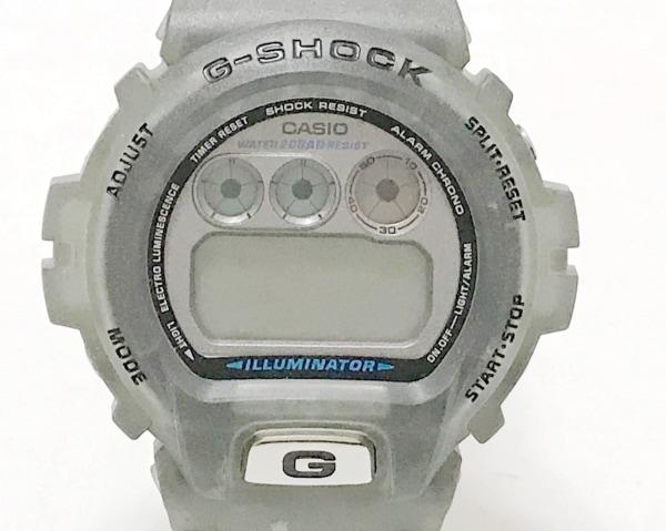 カシオ 腕時計 G-SHOCK DW-6900WF ボーイズ ラバーベルト/フランスワールドカップ98