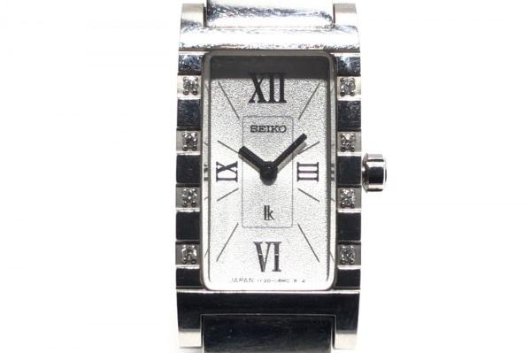 SEIKO(セイコー) 腕時計 ルキア 1F20-0BA0 レディース 8Pダイヤ シルバー