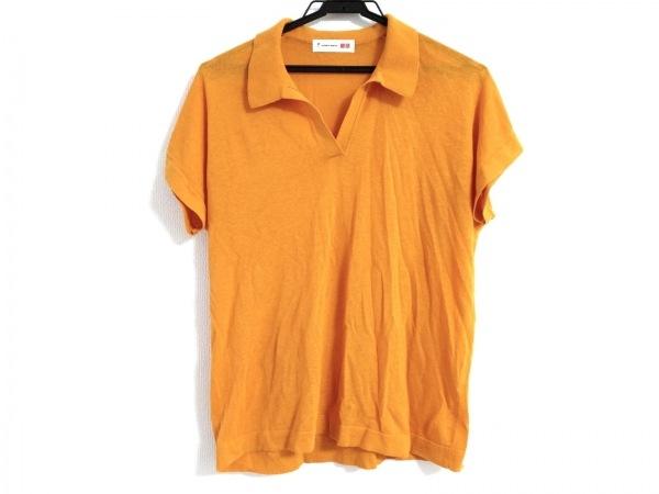 トーマスマイヤー 半袖ポロシャツ サイズL レディース オレンジ ×ユニクロ