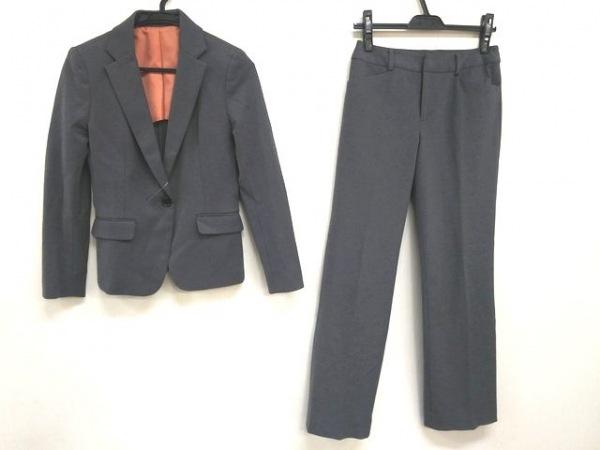 COMME CA ISM(コムサイズム) レディースパンツスーツ サイズS レディース グレー