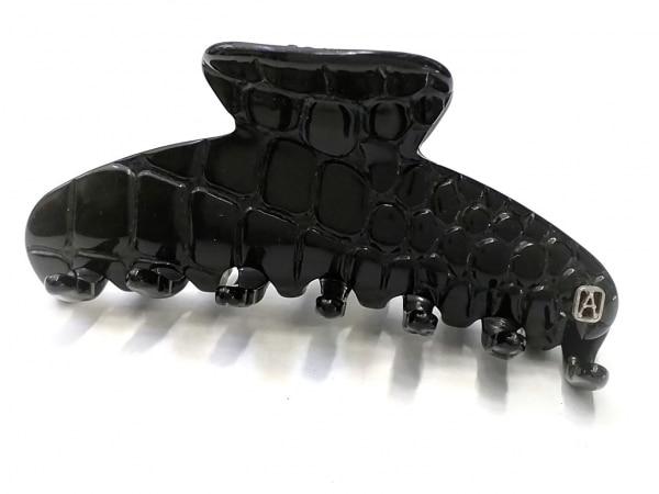 ALEXANDRE de PARIS(アレクサンドル ドゥ パリ) アクセサリー美品  プラスチック 黒