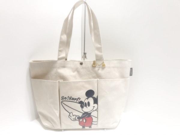 59ac56c007c2 snidel(スナイデル) トートバッグ アイボリー×黒×レッド Disney キャンバス
