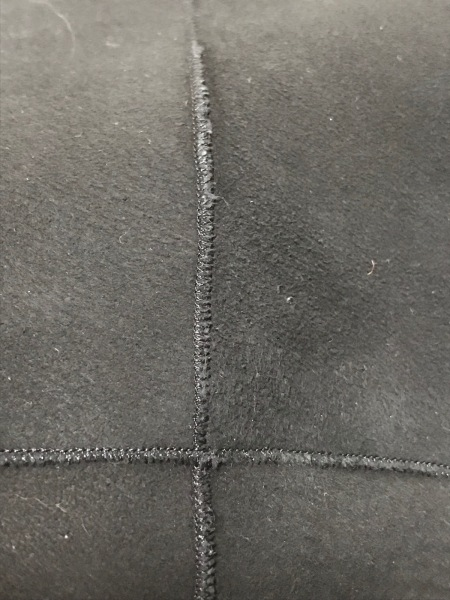 ロベルトマッシーニ コート サイズ9 M レディース 黒×ベージュ 冬物/ファー