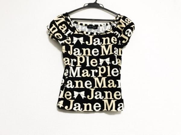 ジェーンマープル 半袖Tシャツ サイズM レディース美品  黒×アイボリー×ベージュ