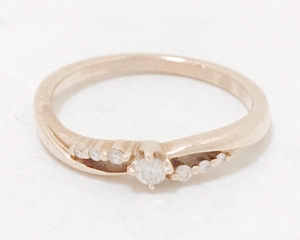 4℃(ヨンドシー) リング K10×ダイヤモンド
