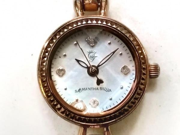 Samantha silva(サマンサシルヴァ) 腕時計 - レディース シェル