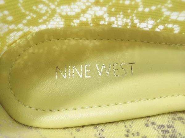 NINE WEST(ナインウエスト) パンプス 6 レディース美品  イエロー 化学繊維×レザー