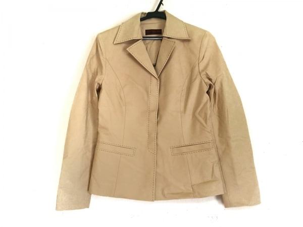 OLD ENGLAND(オールドイングランド) ジャケット サイズ36 S レディース美品  ベージュ