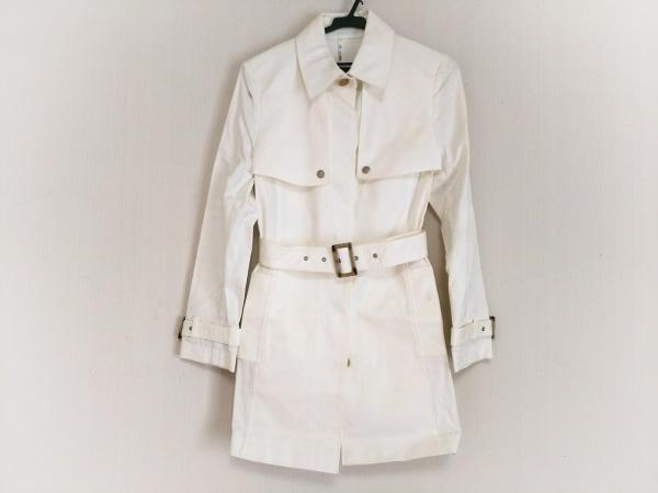 OLD ENGLAND(オールドイングランド) コート サイズ36 S レディース 白 春・秋物