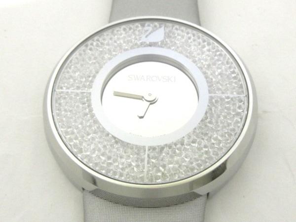 SWAROVSKI(スワロフスキー) 腕時計美品  クリスタルライン - レディース シルバー