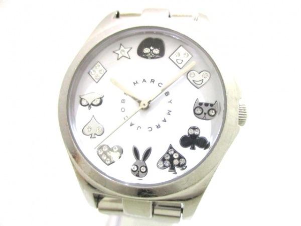 MARC BY MARC JACOBS(マークジェイコブス) 腕時計 MBM3061 レディース 白