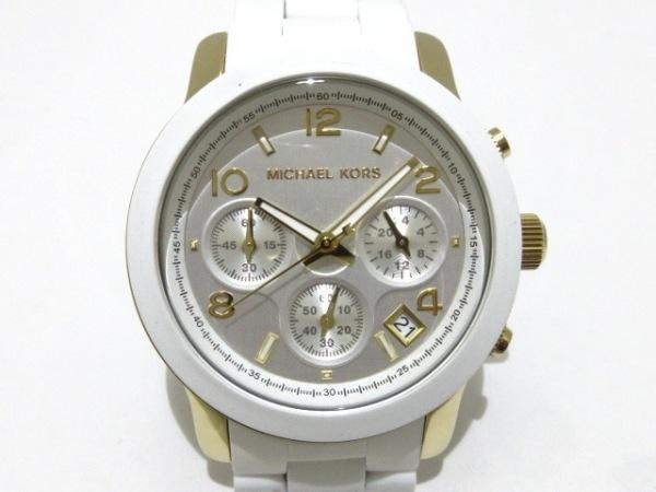 MICHAEL KORS(マイケルコース) 腕時計美品  MK-5145 レディース シルバー