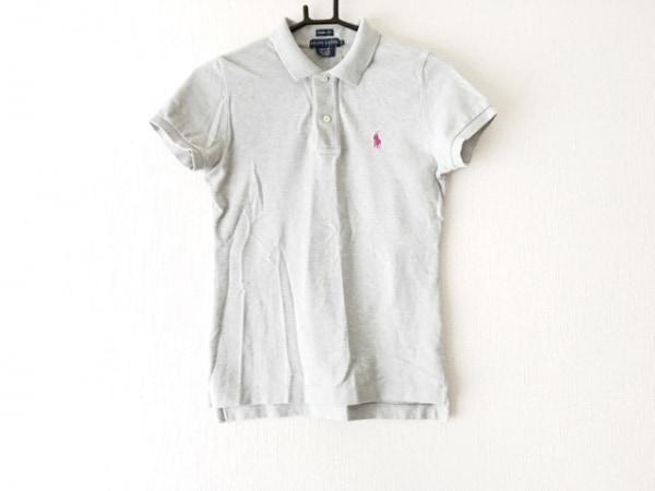 RalphLauren(ラルフローレン) 半袖ポロシャツ サイズS メンズ ライトグレー