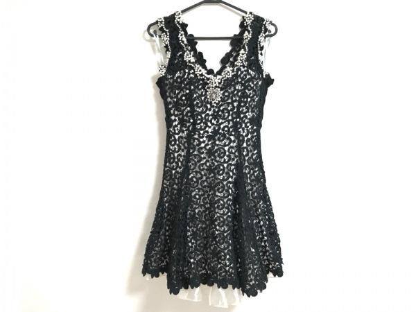 ANDY(アンディ) ドレス サイズS レディース美品  黒×ベージュ