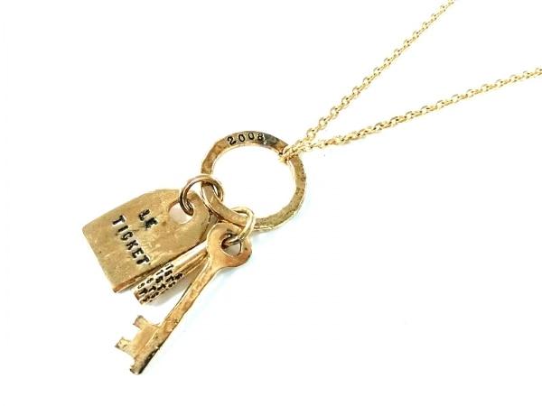 SERGE THORAVAL(セルジュ トラヴァル) ネックレス美品  金属素材 ゴールド