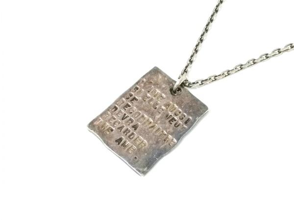 SERGE THORAVAL(セルジュ トラヴァル) ネックレス 金属素材 シルバー