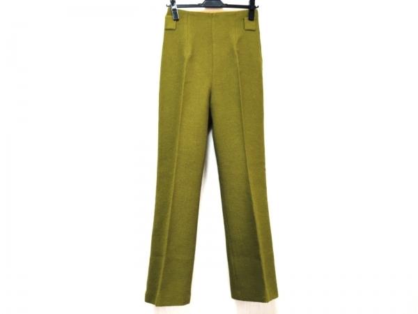 アカネ ウツノミヤ パンツ サイズ36 S レディース美品  ライトグリーン