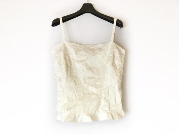 VALENTINO(バレンチノ) キャミソール サイズ40 M レディース美品  白 刺繍