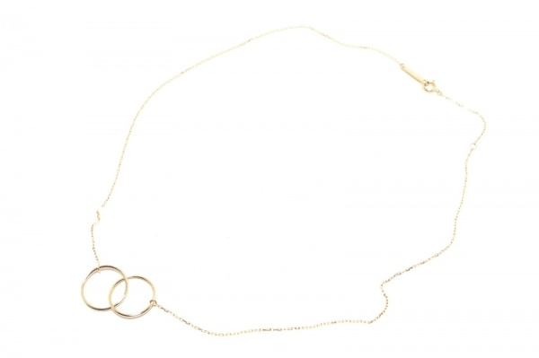 Enasoluna(エナソルーナ) ネックレス ダブルオーネックレス K10
