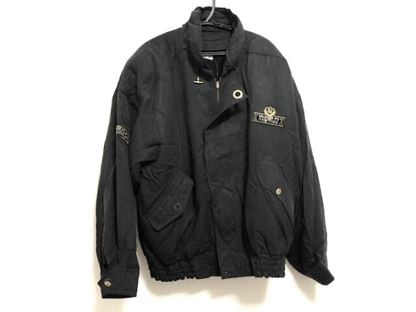 VALENZA PO(バレンザポー) ブルゾン レディース 黒 肩パッド/春・秋物