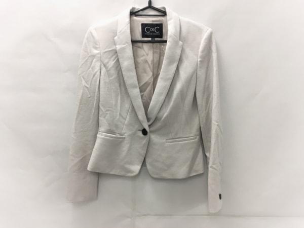 クードシャンス ジャケット サイズ36 S レディース美品  ベージュ