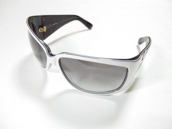 マークバイマークジェイコブス サングラス MMJ0008/S 白×黒 プラスチック