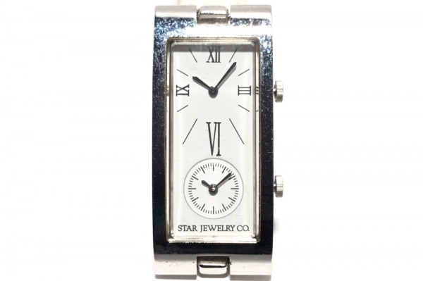 STAR JEWELRY(スタージュエリー) 腕時計 1N00-5070 レディース 白×シルバー