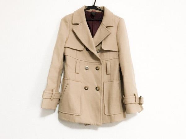 【中古】 ダブルスタンダードクロージング DOUBLE STANDARD CLOTHING コート レディース ベージュ 冬物