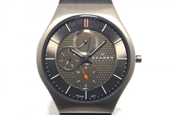 SKAGEN(スカーゲン) 腕時計美品  パフォーマンスドリブン チタニウム 806XLTLM メンズ