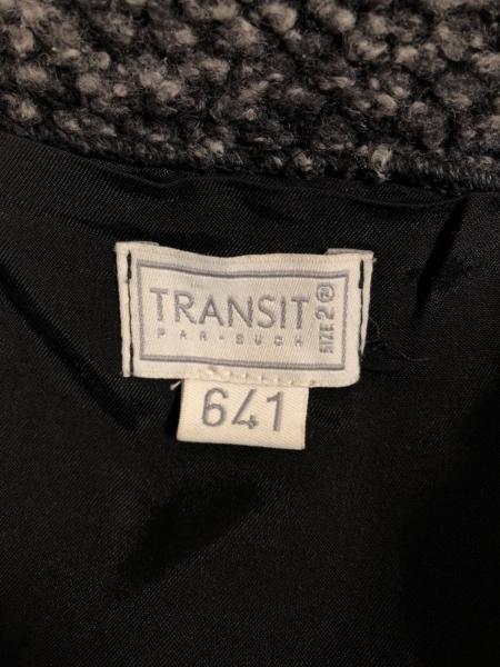 TRANSIT(トランジット) コート サイズ2 M レディース ダークグレー 冬物
