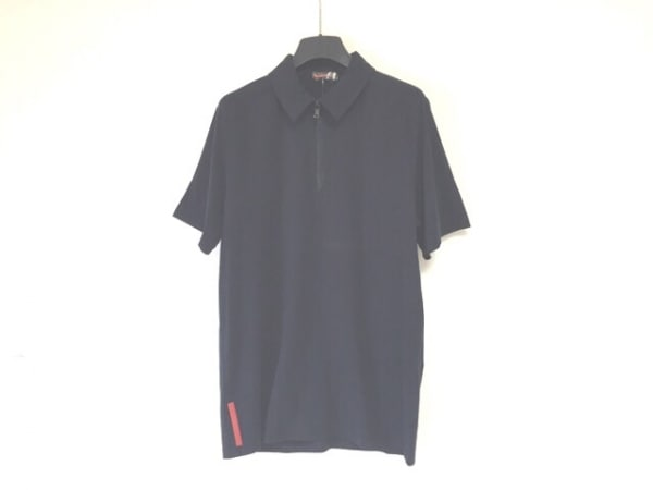 PRADA SPORT(プラダスポーツ) 半袖カットソー サイズL メンズ 黒