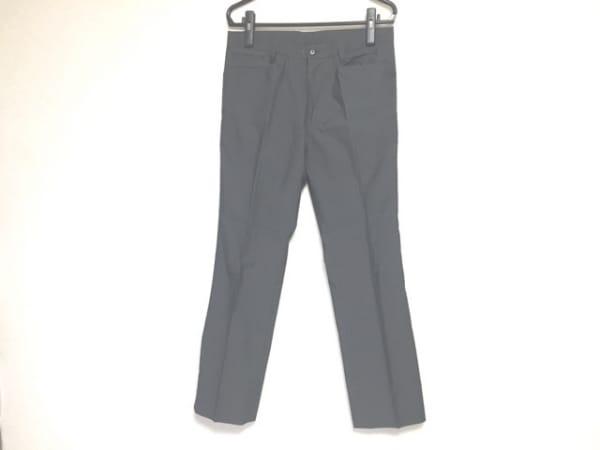 EPOCA(エポカ) パンツ サイズITL48 メンズ ダークグレー UOMO/ストライプ