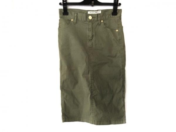 DEUXIEME CLASSE(ドゥーズィエム) スカート サイズXS レディース カーキ