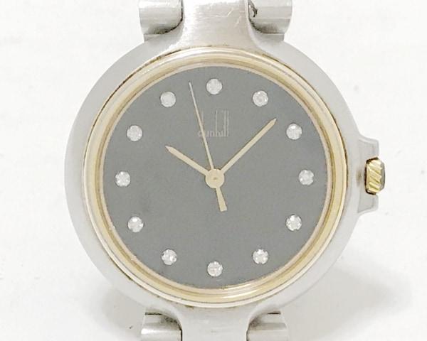 dunhill/ALFREDDUNHILL(ダンヒル) 腕時計 ミレニアム SOOV レディース 12Pダイヤ 黒
