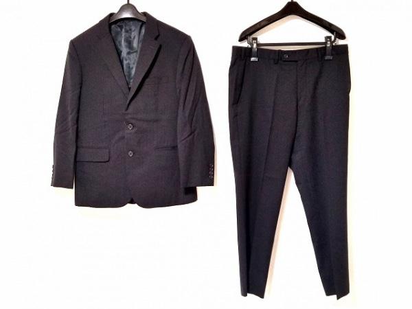 TAKEOKIKUCHI(タケオキクチ) シングルスーツ メンズ 黒 ストライプ