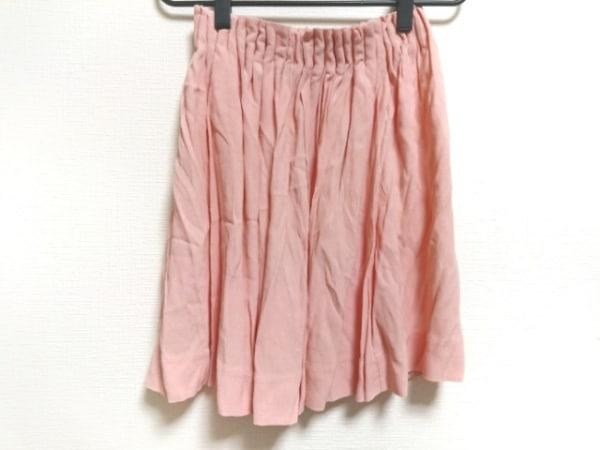 シーバイクロエ スカート サイズ38 M レディース美品  ピンク ウエストゴム
