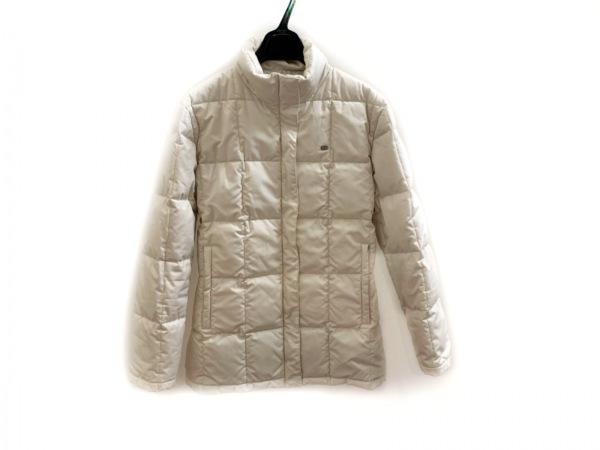 Lacoste(ラコステ) ダウンコート サイズ42 L レディース アイボリー 冬物