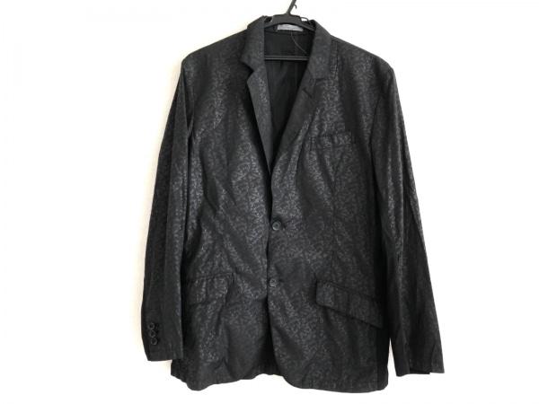 MEN'S TENORAS(メンズティノラス) ジャケット メンズ 黒×ダークグレー 異素材切替