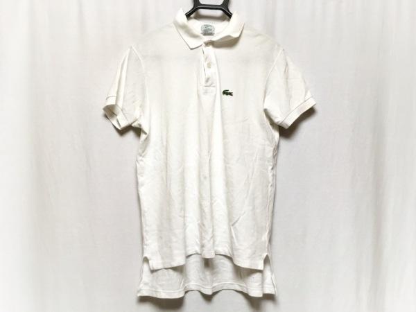 Lacoste(ラコステ) 半袖ポロシャツ サイズM メンズ 白