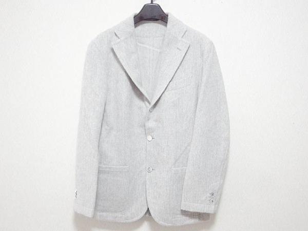 Takizawa Shigeru(タキザワシゲル) ジャケット サイズ46 XL メンズ ライトグレー