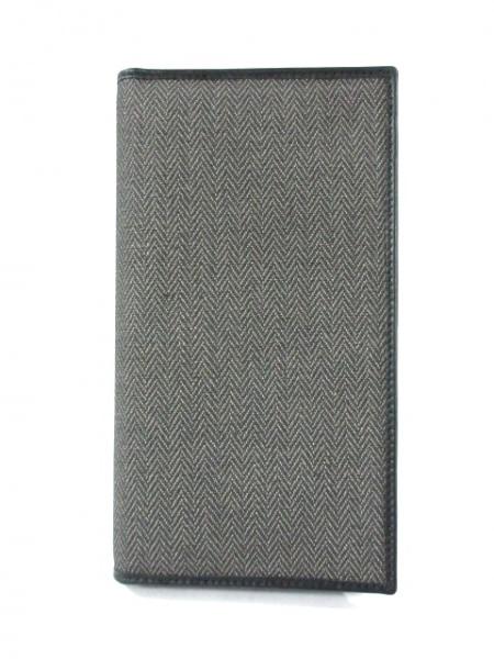 0cec02d4919e ... ブルガリ 長財布美品 ウィークエンド グレー×黒 PVC(塩化ビニール)×レザー ...