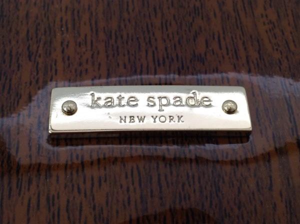 Kate spade(ケイトスペード) ハンドバッグ PXRU4511 ブラウン×黒 エナメル(レザー)