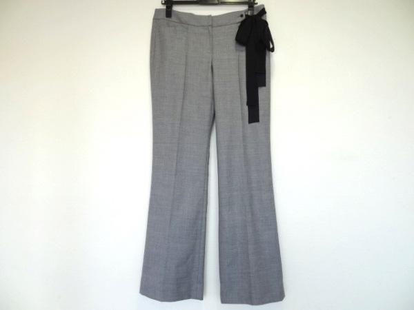 TO BE CHIC(トゥービーシック) パンツ サイズ42 L レディース美品  ライトグレー