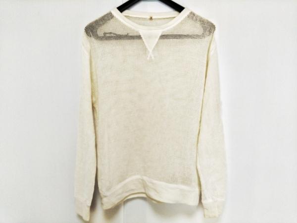 R13(アールサーティーン) 長袖セーター サイズS レディース WM3028-1 アイボリー