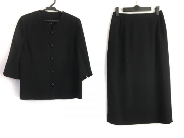 トウキョウイギン スカートスーツ サイズ11 M レディース美品  黒 3点セット