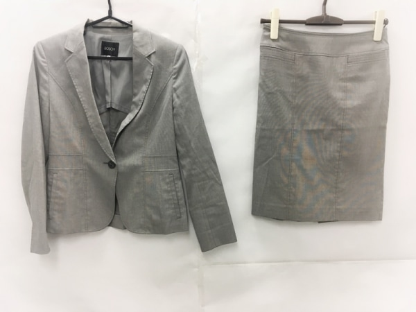 BOSCH(ボッシュ) スカートスーツ サイズ36 S レディース美品  ライトグレー 3点セット