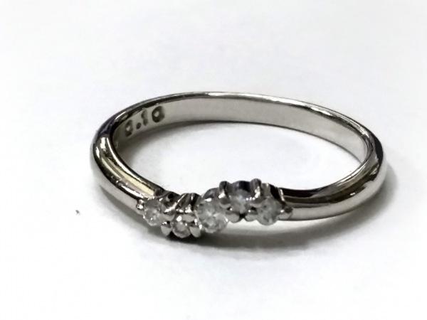 STAR JEWELRY(スタージュエリー) リング美品  Pt950×ダイヤモンド 0.1カラット
