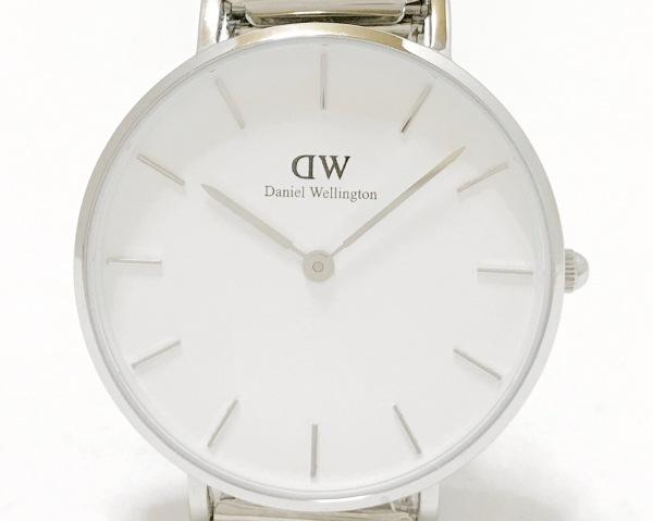 Daniel Wellington(ダニエルウェリントン) 腕時計美品  B32S1 レディース 白