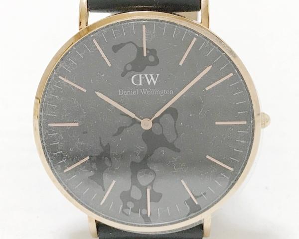 Daniel Wellington(ダニエルウェリントン) 腕時計美品  B40R19 メンズ 黒