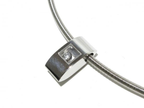 ショパール ネックレス ハッピーダイヤ 79/3035-20 K18WG×ダイヤモンド 1Pダイヤ